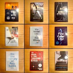 5/$15 drama/coming of age books!